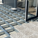 Konstrukcija tal terase
