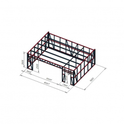 Garaža 8x6 DBO